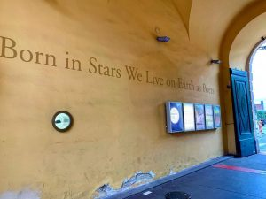 Born in Stars We Live on Earth as Poets. #vienna #wien #museumsquartier