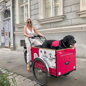 TRANSPORTATION. PROBLEM. SOLVED. 💁🏼‍♀️🐶