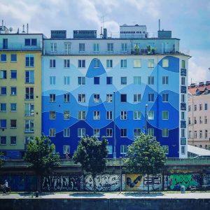 The painted ladies of Vienna.