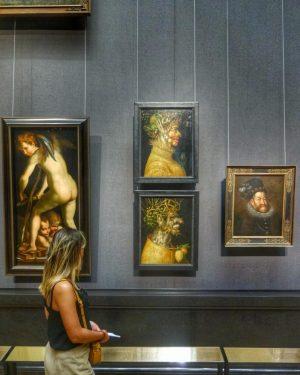 Sortie culturelle au musée des beaux arts de Vienne. Arrêt obligatoire devant les toiles du maître Arcimboldo...