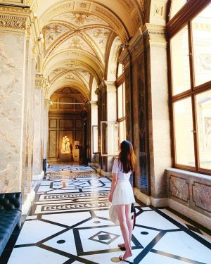 建筑与艺术的美与崇高 #vienna #austria 我和妹妹误打误撞误入