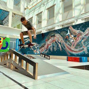 @bluetomato @wienmuseum #skateofftheart #skate #skateboard #vienna #wienmuseum #wien