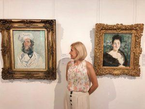 Работы Клода Моне и Эдуарда Мане в музее Бельведер (Австрия, Вена)
