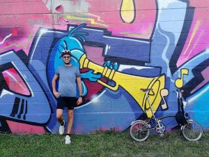 A good day for ride 🚲 my Brompton and discover new locations in ...