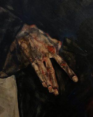 Egon Schiele 🖤 наконец-то увидела своими глазами