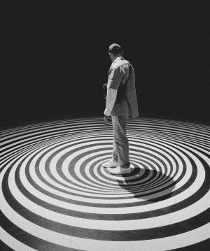 Vertigo • • • #adidasoriginals #carhartt #dickies #museum #vienna #illusion #art #vsco @mumok_vienna