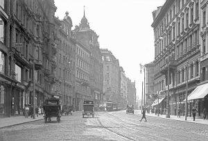 Mariahilfer Straße 1913|2018 · Da die Mariahilfer Straße vom Kaiser für den Weg ...