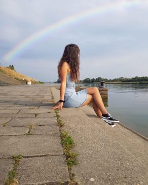 she was a rainbow but he was color blind ~ 🌈 #color #rainbow ...