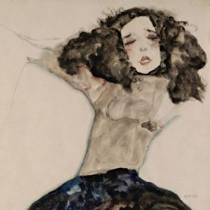 👨🏻‍🎨#TGIF! 😃 Have you ever seen this beautiful #watercolor by #EgonSchiele ? 😍 ...