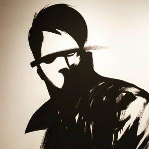 i call him mortimer, a wannabe-sherlock . . #thiscouldbeonyourwall #wienmuseum #wienmuseumtakeover #streetart #graffiti