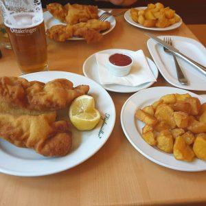 Wiener Schnitzel at @figlmueller @vienna