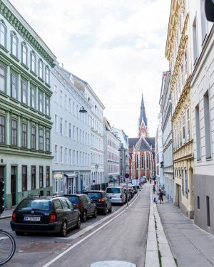 Eurotour 3. Vienna. Austria. 16 July 2019 Year. Улицы Вены...