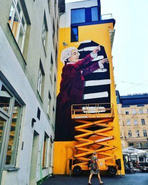 Margaretenstrasse 5th district Brandnew . . . #viennamurals #streetart #murals #myhood #igersvienna #wienstagram #stadtwien #viennatouristboard #instavienna #viennadaily...