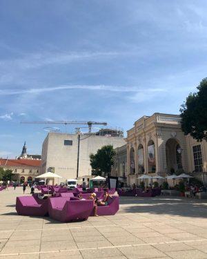 Im Museumsquartier in Wien wird fleißig gebaut. Hier entsteht MQ Libelle. Eine öffentlich zugängliche Terrasse ohne Konsumzwang....