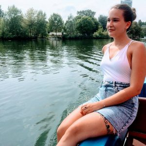 ☀️ Summer time ⛵ #summer2019 #bootfahren #qualitytime #vienna #donau #sundayfunday