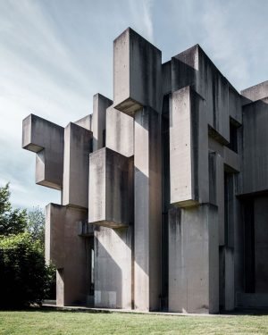 WOTRUBAKIRCHE More like an abstract sculpture than a building for worship, this church, which sits at the...