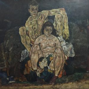 Egon Schiele, La famiglia, 1918