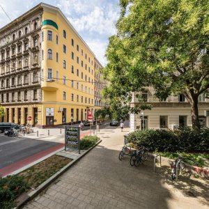 Das Freihausviertel ist eines der lebendigsten und urbansten Gebiete Wiens. Weil es an ...