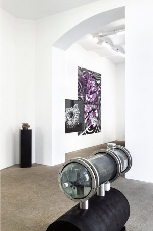 Thomas Feuerstein, ANTHRONAUT, exhibition view, Galerie Elisabeth & Klaus Thoman, Vienna, 2019 Photo: ...