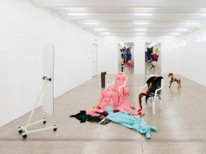 #AlexandraBircken's solo exhibition 'Unruhe' is now open at @viennasecession until 10th November.