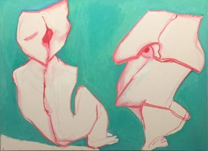 Maria Lassnig, What Next? 2007 😍 Maria Lassnig, Ways of Being - Great Exhibition at Albertina Museum,...