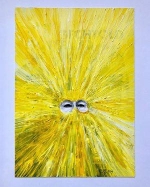a really powerful work by Gottfried Bechtold 😃 #gottfriedbechtold #galeriemaximilianhutz #art #modernart #fineart ...