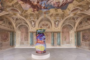 Uli Aigner's work in the Carlone Hall is based on a colour pencil ...