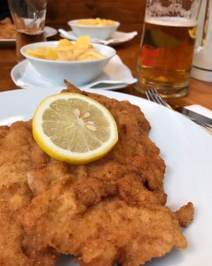 The lovely views of Austria and Germany. 🤤 #schnitzel #schniztelmetimbers #austrianfood #germanfood #österreich #deutschland #ivebeentoparadisebutiveneverbeentome #gaycation2019 #friedfoods...