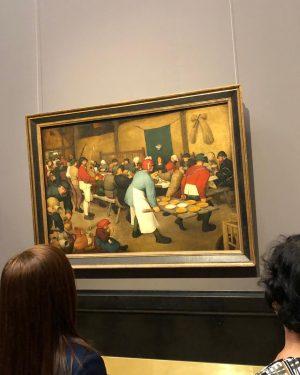 Vimos esse quadro original em Viena. Foi o maior quebra-cabeças 🧩 já feito por minha mãe (...