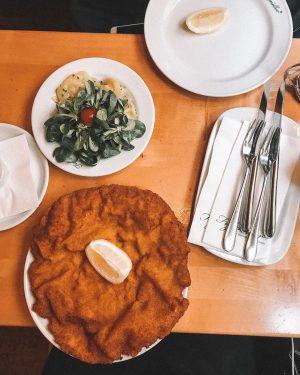O QUE COMER EM VIENA Só comida boa, já aviso!!! . *Schnitzel: Vá no Figlmuller - SEM...