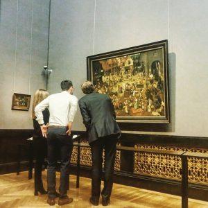 Bruegel begreifen. #kunstschatzi #khm #bruegel #kunst #museum #watch #kultur #wien #vienna #igers #igersvienna #wienlove #partyimmuseum #havealook #kunstwerk...