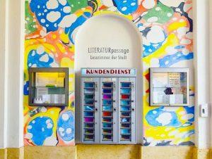 Bu ilk kez Viyana'da bir mikro müzede gördüğüm sanat otomatı 🎭 sanat krizi tutanlara bire bir 😊...