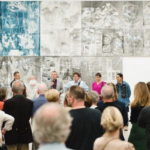Thank you all for celebrating the opening of the exhibitions by Tillman Kaiser, ...