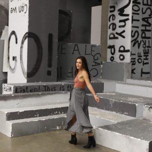 Invasion of the #fashionistas @kunsthallewien #gelatin set as backdrop for #fashionnight #selfies @mqviennafashionweek ...