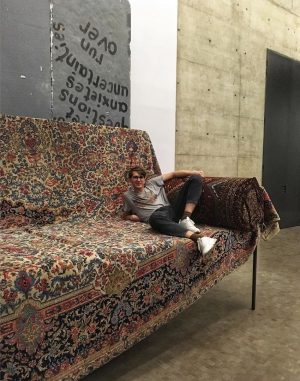 в гостях у бабушки #carpetdenim #kunsthalle #vienna