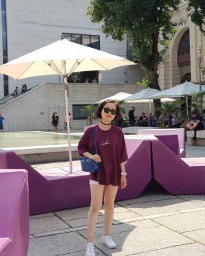 🍀. . . . #wien#museumsquartier#vienna#austria#tb#vacay#purple