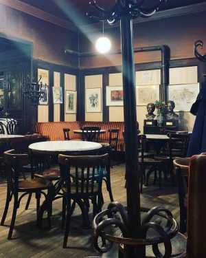 Cafe Hawelka is one of Vienna's most famous coffee houses. First opened in ...