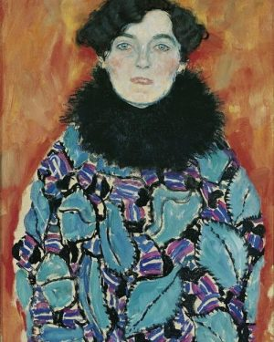 Do you know this artwork by Gustav Klimt? This painting is one of ...