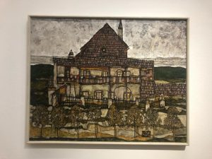 Cesky Krumlov through Egon Schiele's eyes.