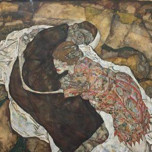 Egon Schiele, La morte e la fanciulla, 1915