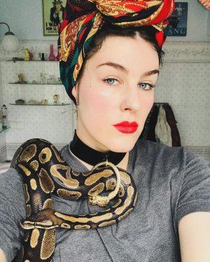 THE FALL OF MAN choker 1.1 #serpent #desadecollection #madeleineblaha #choker #ballpython #snakelovers #worship #python #madeleineblahadesign #fashion Shop...
