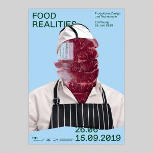 Food Realities — Poster series / identity for the Food Realities exhibition next ...
