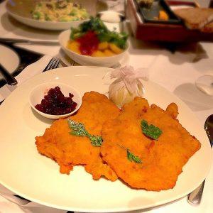 Went to this one Michelin star Modern Austrian cuisine in Vienna. Their WIENER ...