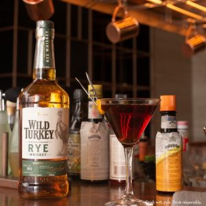 // The Wild Italian // . 5cl Wild Turkey Rye 3cl Barolo Chinato ...