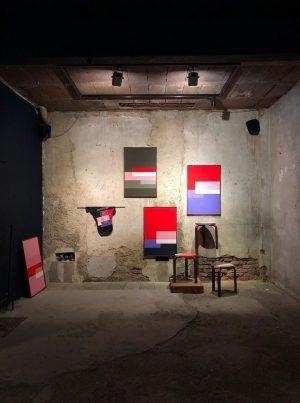 OUTDOORDISCO III. @artekglobal x @bbuc_co @hotelambrillantengrund #disco #artek #stool60 #alvaralto #design #vitra #createidentity ...