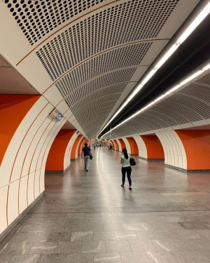 Title: Mr. Smith Subject: Subway Station . . . . . . #train #trainstation #vienna #tunnel #streetphotography...