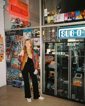 🎮 Jasna, Vienna, 2018. #games #videogames #nintendo #analog #analogue #photography #mju #olympusmjui #35mm #valentinajarcphoto