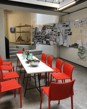 New exhibition, new Kochmittwoch. We are ready, come lunch with us. Every Wednesday, 12 pm. #dieangewandte