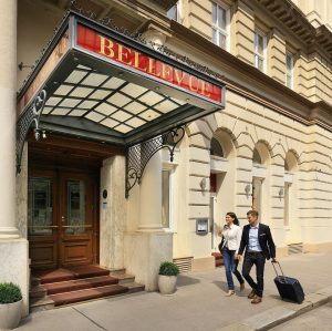 Welcome to Hotel Bellevue Vienna. We wish our guests a fabulous stay in our hotel. 😊 #hotelsvienna...