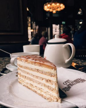 Cafe Schwarzenberg • Cake ... but not just any cake! This is the ...